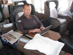 John Vanhara a jeho kniha Podnikani v USA