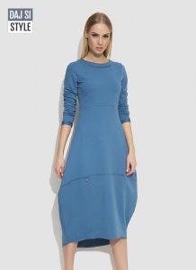dámske šaty modré