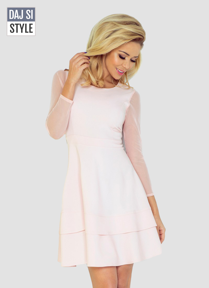 svetlé dámske šaty